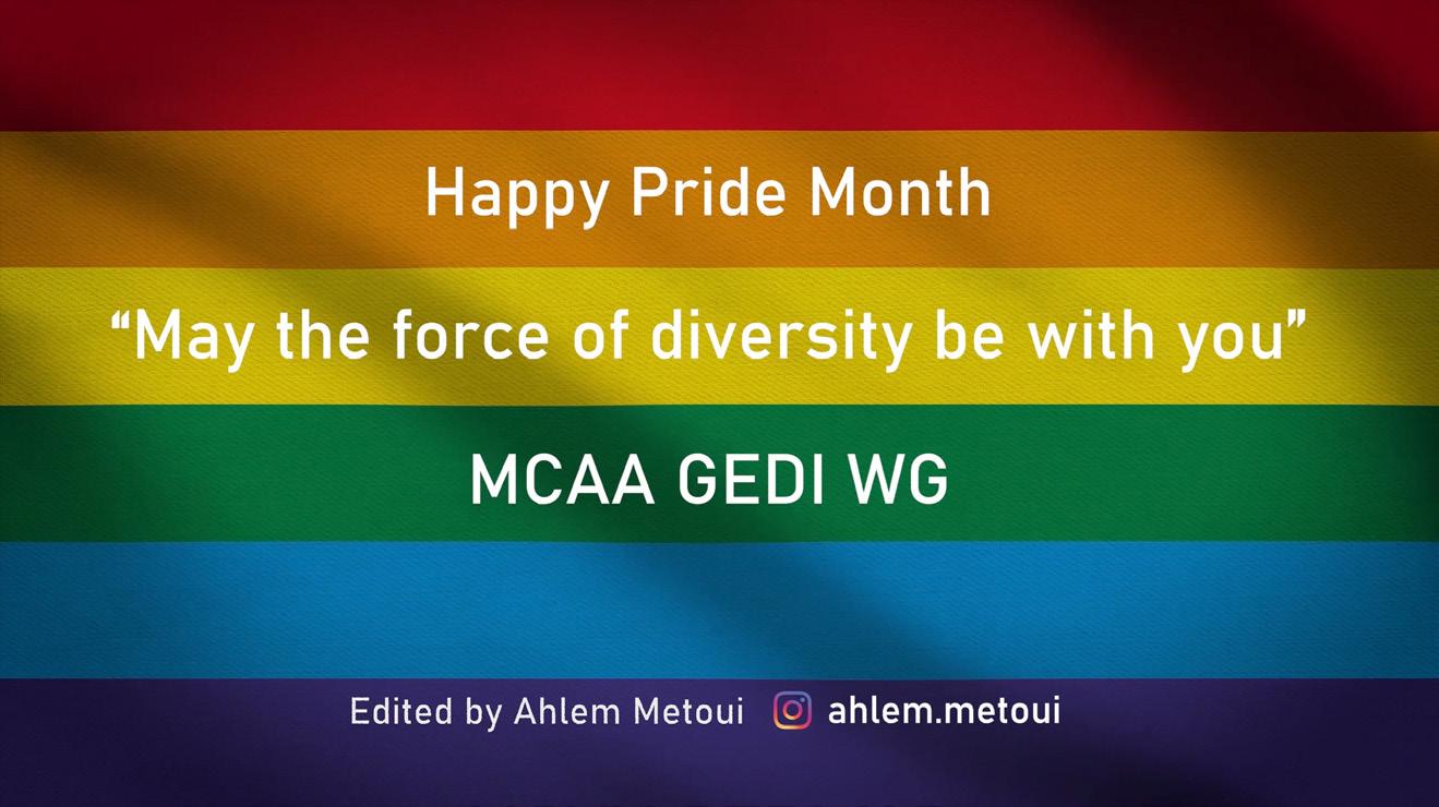 Happy Pride Month Banner