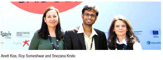 Anett Kiss, Roy Someshwar and Snezana Krstic