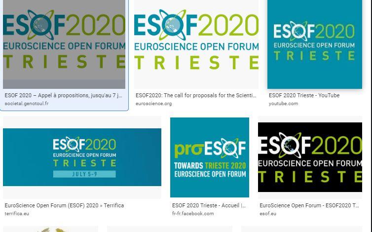 ESOF2020 Logo