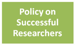 Policy on Sucessful Researchers