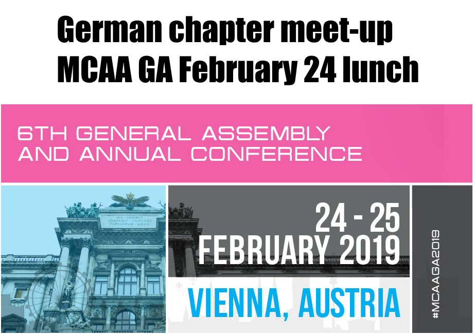 German chapter meet-up during General Assembly 2019