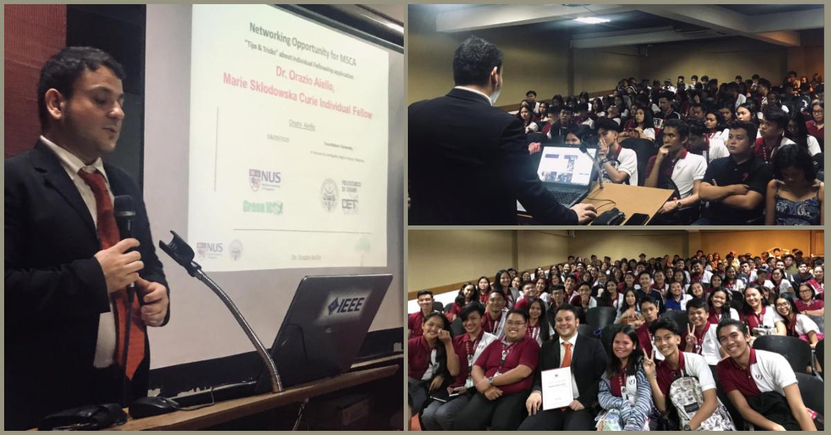 Talk at Foundation University, 5th Sept 2019