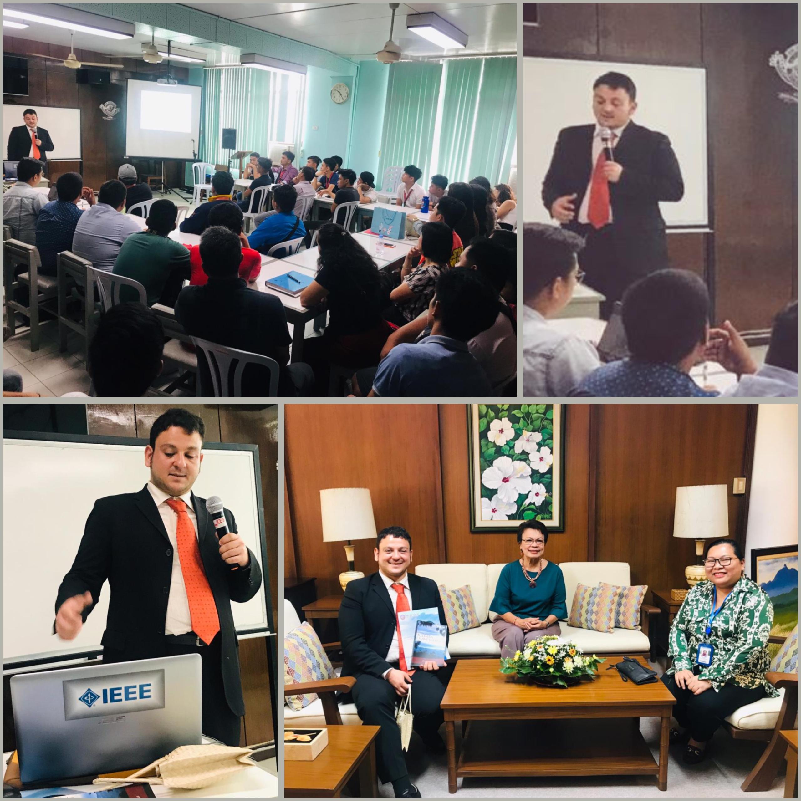 Talk at Siliman University, 4th Sept 2019