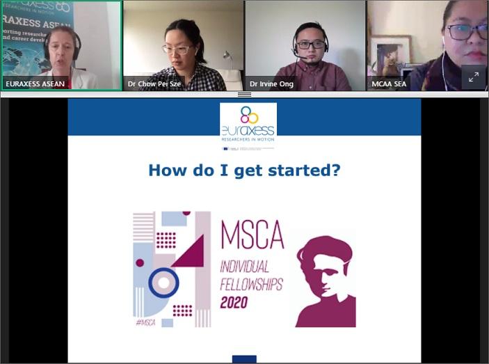 MSCA-IF Webinar Singapore 27 Apr 2020